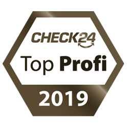 Siegel Check24 Gold Top Profi 2019